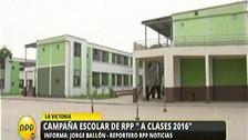 Unos 100 alumnos desertan cada año en el colegio Pedro Labarthe