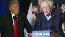 Trump y Sanders ganarán las primarias de Nuevo Hampshire, según los medios