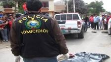 Delincuentes asesinan a tres sujetos en el centro poblado Nuevo Cañete