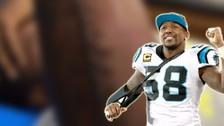 Super Bowl 50: Thomas Davis mostró en Instagram su espeluznante corte