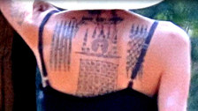 Angelina Jolie tiene tres nuevos e inmensos tatuajes