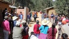 Chota: más de mil ronderos reciben ayuda para reforzar seguridad ciudadana