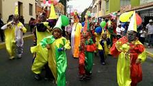 Tradicional remate de carnavales se realizó en Yanahuara