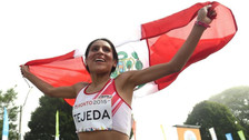 Gladys Tejeda: IAAF ratificó sanción de 6 meses y podrá estar en JJOO de Río 2016