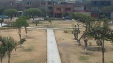 SMP: parque Cayetano Heredia luce descuidado