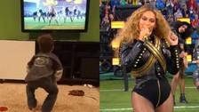 Super Bowl: este niño causó furor al imitar los pasos de Beyoncé