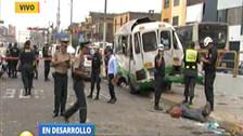 Cercado: un muerto y al menos 18 heridos en choque en la avenida Grau
