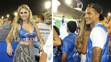 Paolo Guerrero coincidió con Bárbara Evans en el Carnaval de Río de Janeiro (FOTOS)