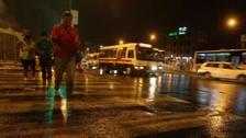 Lima: lluvia de moderada intensidad se registró en diversos distritos