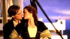 Leonardo DiCaprio y Kate Winslet listos para subir otra vez al Titanic