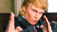 Johnny Depp personifica a Donald Trump en una parodia