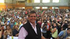Quesada dice que Alan García tiene 15 %, según sus propias encuestas