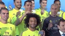 YouTube: Cristiano Ronaldo 'troleó' a Marcelo en foto con el Real Madrid (VIDEO)
