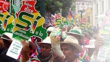 Convocan a bolivianos para que participen en proceso de referéndum