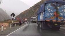 Carretera Central: se restablece el tránsito tras caída de huaico