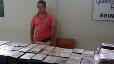 Policía decomisa cerca de 10 mil discos grabados de manera ilegal