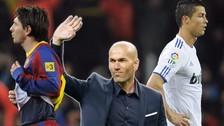 ¿Cristiano Ronaldo o Lionel Messi? Zinedine Zidane reveló a su preferido