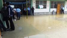 Zarumilla: fuertes lluvias afectaron 15 colegios estatales
