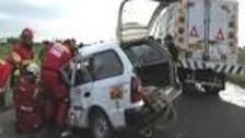 Áncash: candidato al Congreso por Fuerza Popular sufre accidente