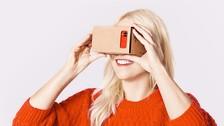 Google desarrolla un dispositivo de realidad virtual