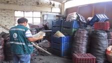 Intervienen almacén donde escondían más de una tonelada de carbón
