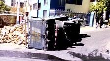 Chorrillos: Camión se empotró contra local donde dictaban clases a niños