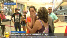 Madre denuncia secuestro de su hija en San Borja