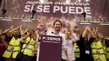 Podemos de España denuncia que Guzmán plagió su campaña
