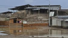 Evacuan aguas estancadas de lluvias en aldedores de centros arqueológicos