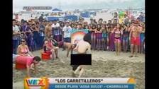 Verano Extremo: hombre totalmente desnudo irrumpió en vivo