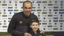 YouTube: niño con parálisis cerebral ganó premio a mejor gol del mes del Everton