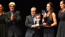 Premio Colibrí de Plata: Natalia Cuglievan se coronó como la mejor deportista del 2015