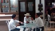 Accidentada visita del candidato Alejandro Toledo en Arequipa