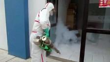 Fumigan ambientes del aeropuerto de Tumbes ante casos de Zika