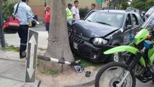 Surco: constantes accidentes por falta de rompemuelle