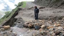 Andahuaylas: huaicos afectan tramos de carretera de Huayana