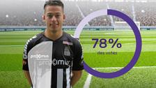 Facebook: Cristian Benavente fue elegido el jugador del mes en el Charleroi (VIDEO)