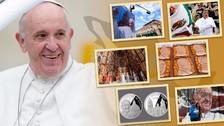 Interactivo: La ruta del papa Francisco en México