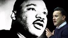 Facebook: Richard Acuña pagó video de su padre comparándolo con Luther King