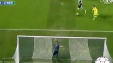 Selección Peruana: Juan Vargas realizó salvada en la línea de meta de Real Betis