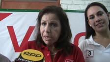Lourdes Flores cuestiona candidatura de Julio Guzmán