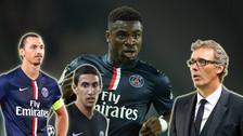 YouTube: Ibrahimovic, Di María y Laurent Blanc fueron insultados por Serge Aurier