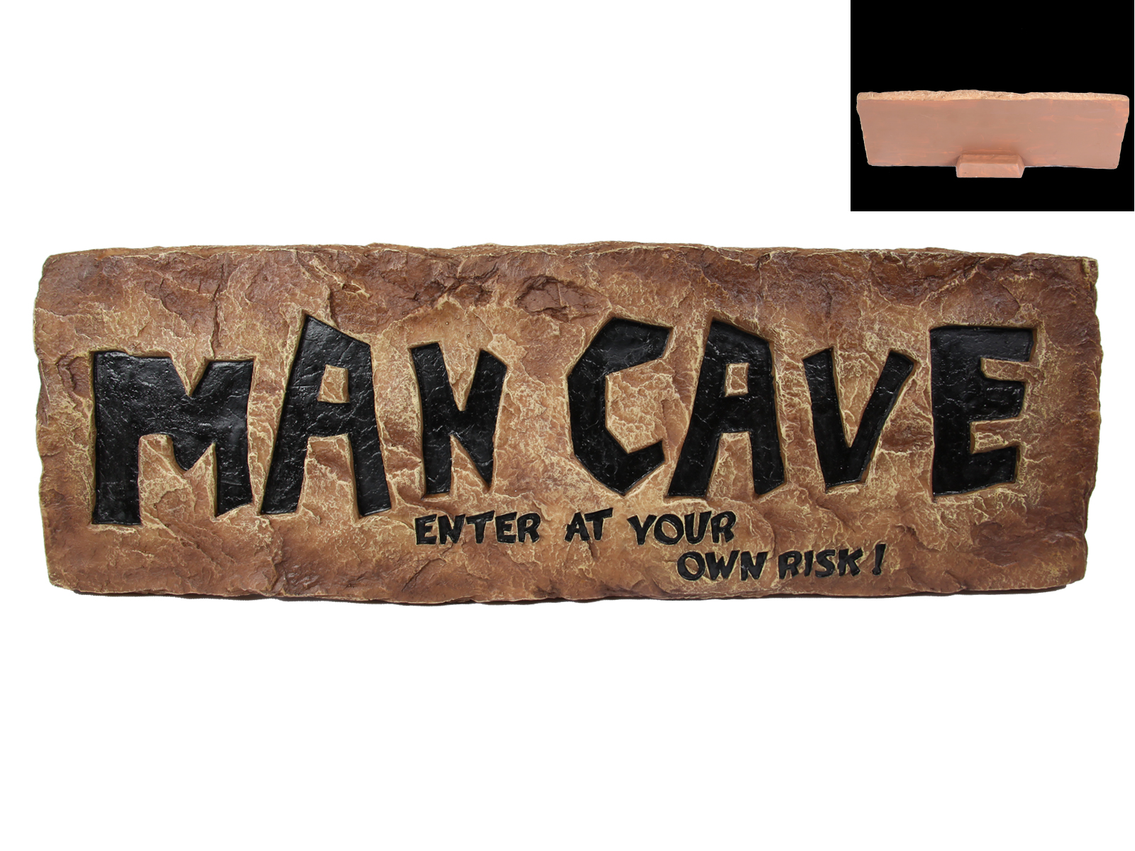 Man Cave Signs Uk : Cm man cave table plaque sign self standing resin