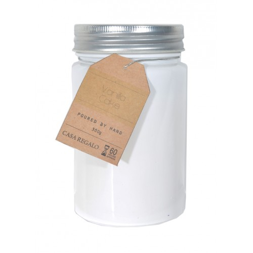 7x12cm Scented Candle in Mason Style Jar with Screw Top Lid  Summer Colours