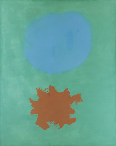 ", 1962. oil on canvas, 90"" x 72"" (228.6 cm x 182.9 cm)."