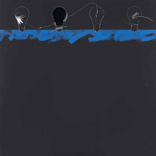 ", 2011. Oil on canvas, 79"" x 79"" (200.7 cm x 200.7 cm)."