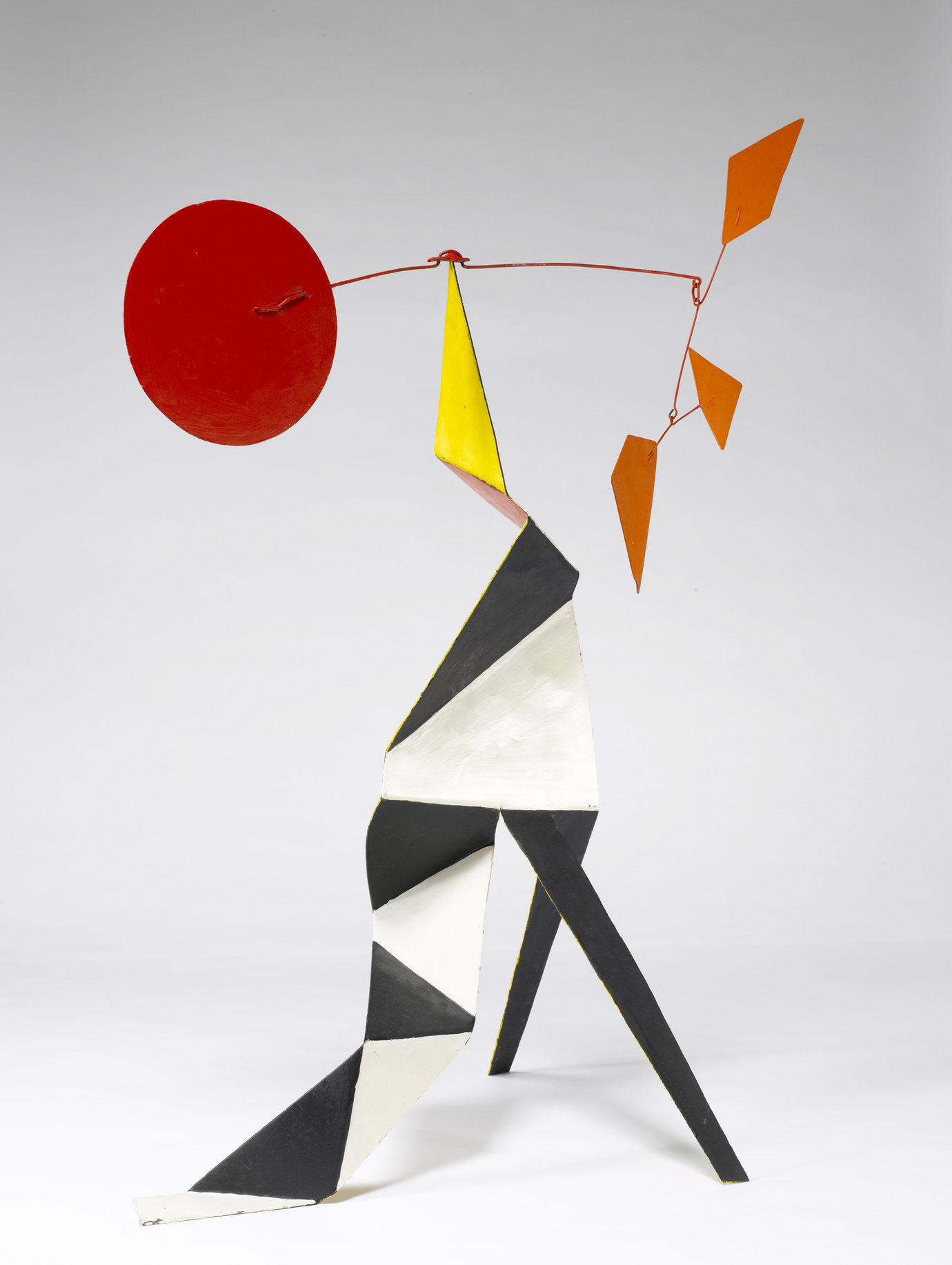 ", c. 1973. Sheet metal, wire and paint, 34"" x 26-1/2"" x 15-1/2"" (86.4 cm x 67.3 cm x 39.4 cm)."