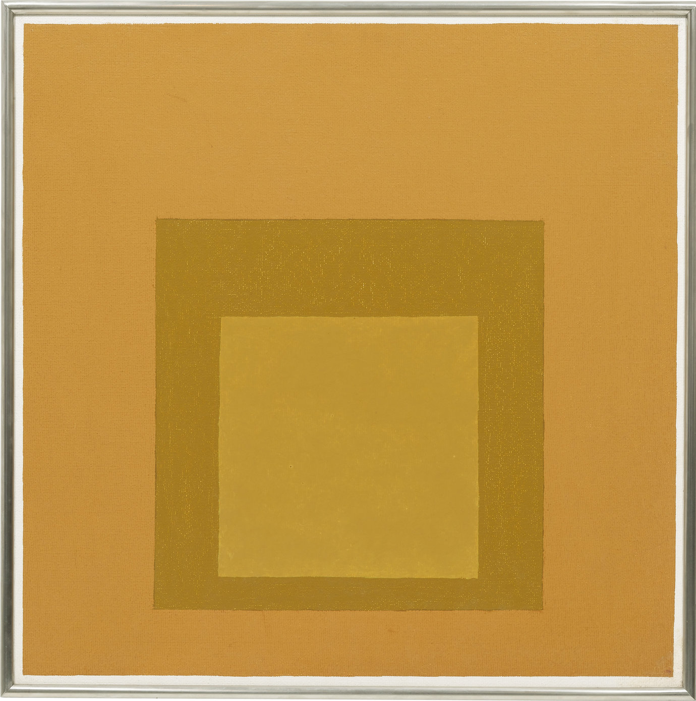 ", 1963. oil on masonite, 24"" x 24"" (61 cm x 61 cm)."
