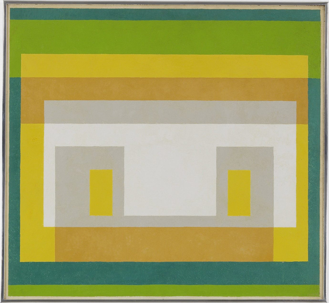 ", 1947-1955. Oil on masonite, 26"" x 28-1/4"" (66 cm x 71.8 cm)."