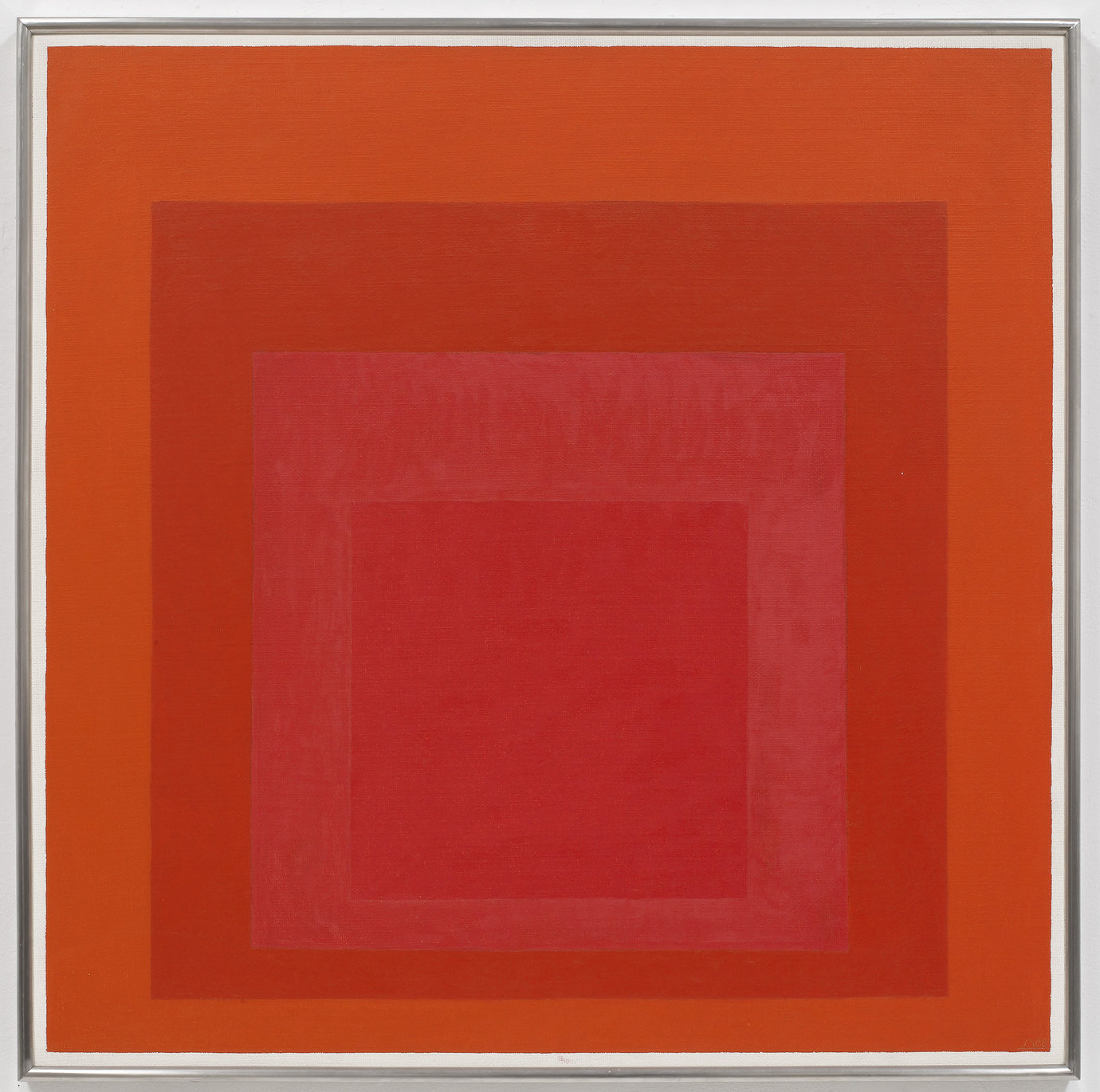 ", 1968. 32"" x 32"" (81.3 cm x 81.3 cm)."